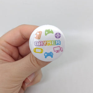 Gaymer Button