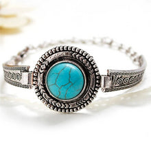 Load image into Gallery viewer, Tibetan Turquoise Bracelet For Women-Lulata