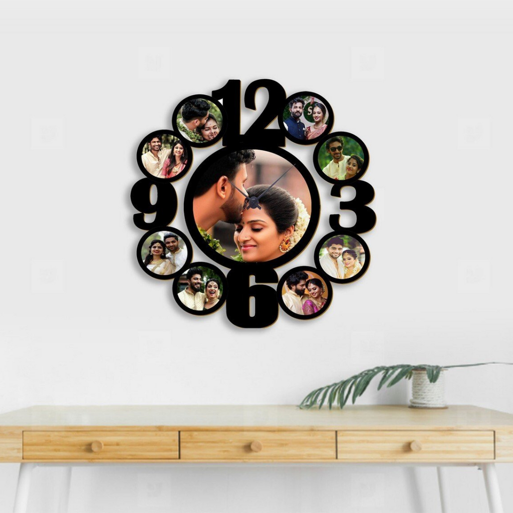 Personalized Wall Clocks with Pictures