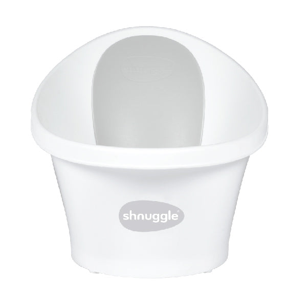 Shnuggle Baby Bath White/Grey - Unique Baby Store