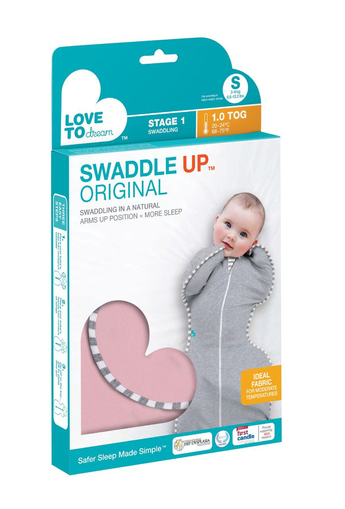 Swaddle Up Original - 1.0 TOG Pink - Unique Baby Store
