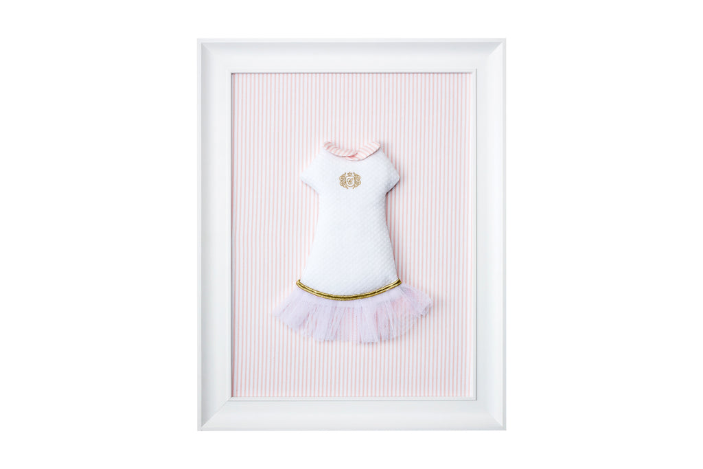 Caramella Golden Chic Picture With a Low Waist Dress - Unique Baby Store