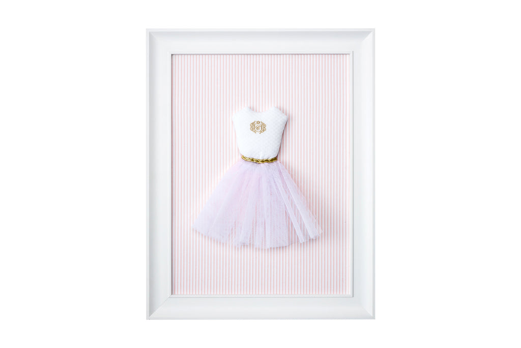 Caramella Golden Chic Textile Picture With a Tutu Dress - Unique Baby Store