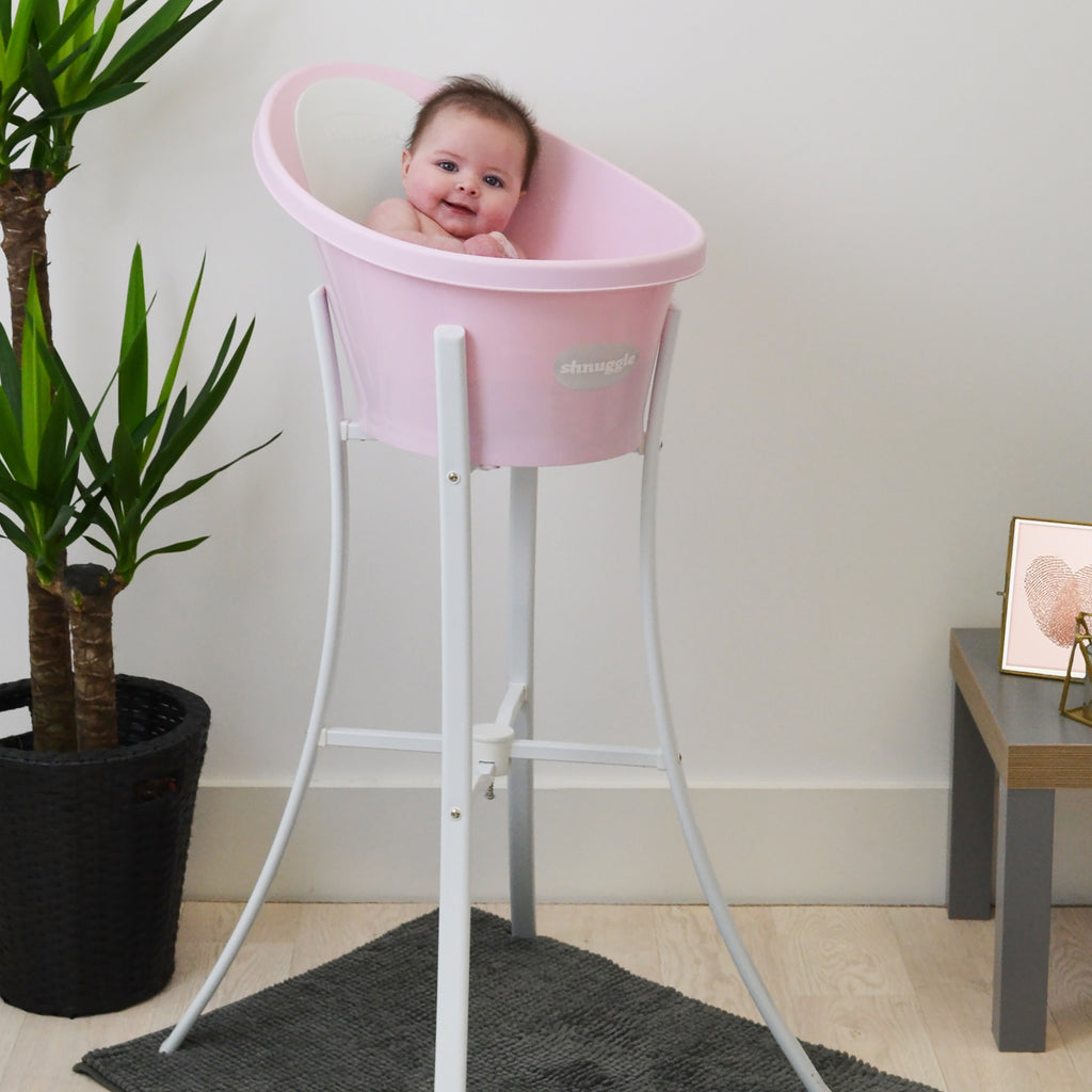 Shnuggle Baby Bath Rose - Unique Baby Store