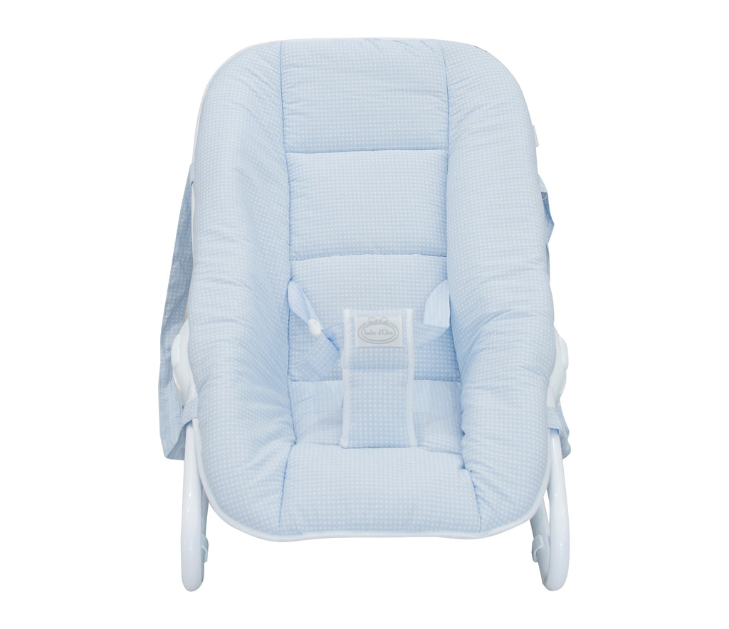 Baby d'Oro Blue Little Dream Baby Bouncer - Unique Baby Store