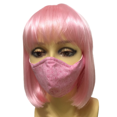 fitted face mask - breast cancer collection