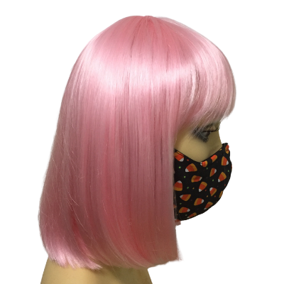 fitted face mask - fall/halloween collection