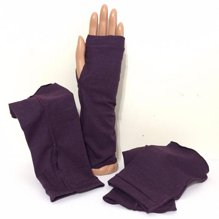 fingerless gloves - when you need to keep your hands warm, but fingers free for work.