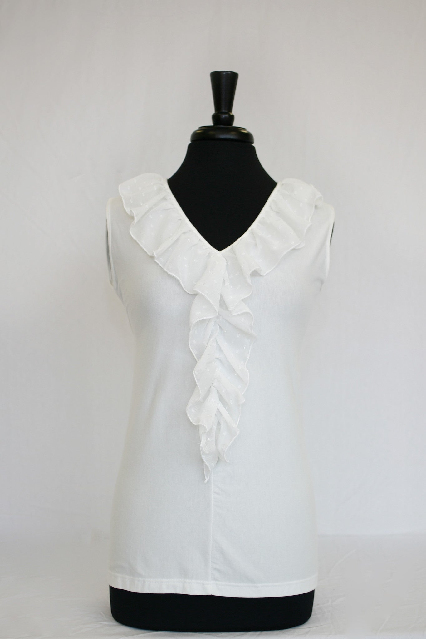 not quite white ruffle - front
