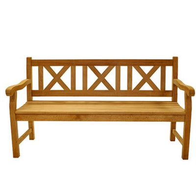 Skipper Three Seater Solid Teak Bench by Royal Teak Collection .