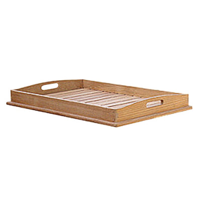 Our Teak Table Tray by Royal Teak Collection is an elegant accessory.