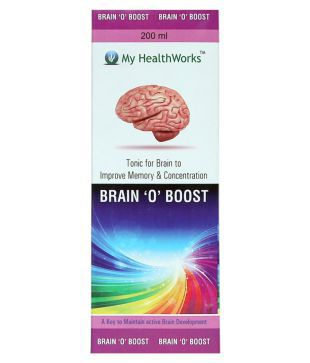 Urzano Brain O Boost 200ml Tonic for Brain 200 ml Multivitamins Syrup