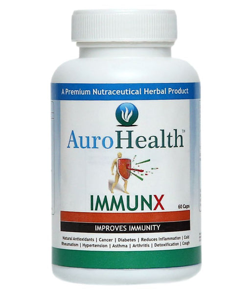 AuroHealth Immunx - 60 Capsules 500mg Natural Herbal products