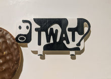 Load image into Gallery viewer, Rude Cow Fridge Magnet