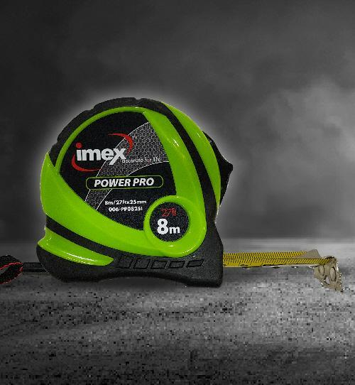 Imex Power-Pro Tape Measures 8m