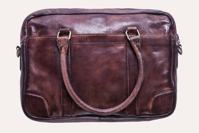Sleek Leather Briefcase
