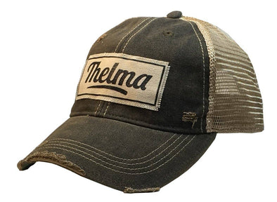 Thelma Distressed Trucker Cap