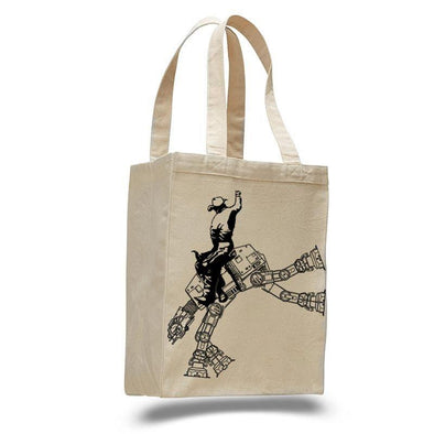 Star Wars AT The Rodeo Canvas Tote Bag