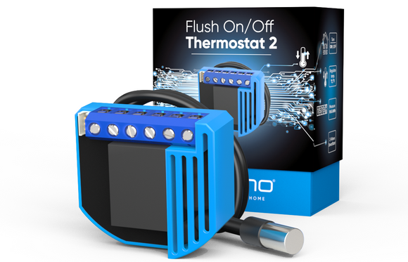 Qubino Flush On/Off Thermostat 2 - EMP SmartHome