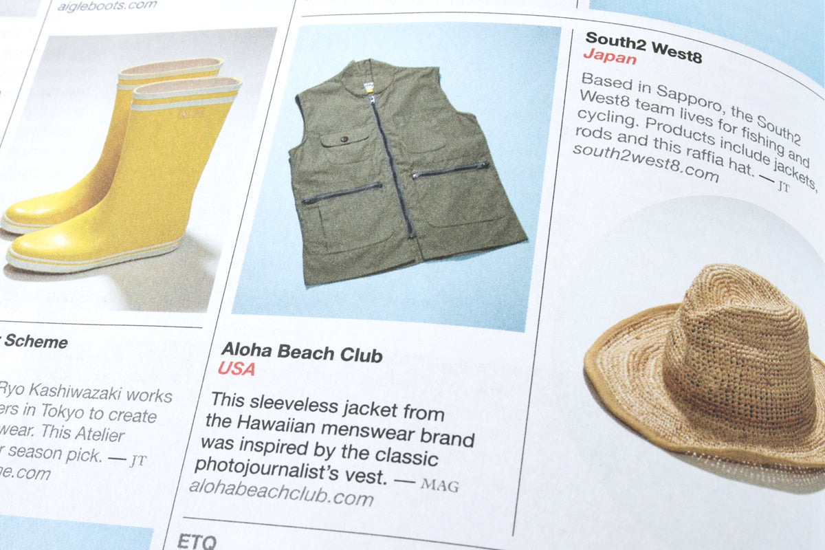 Aloha Beach Club in Monocle Magazine