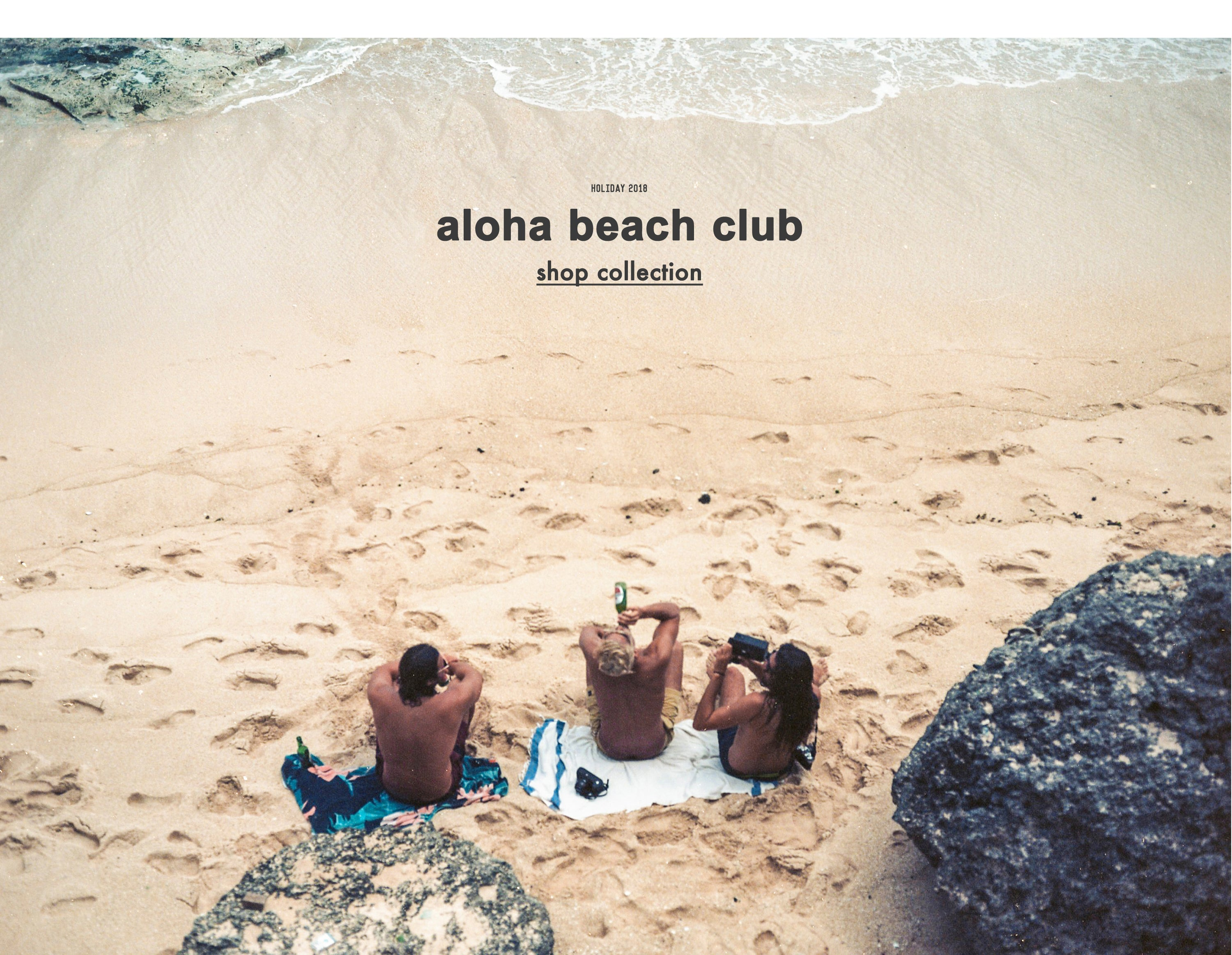 Aloha Beach Club Holiday 2018