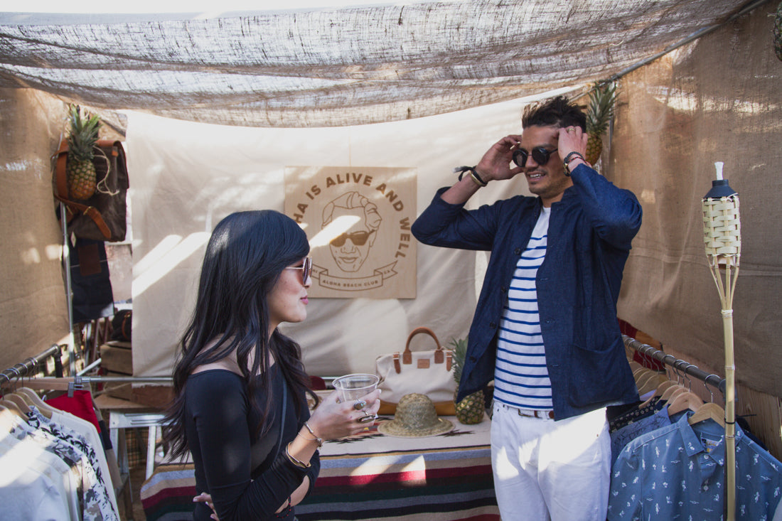 Aloha Beach Club at Desert and Denim 2016 in Joshua Tree