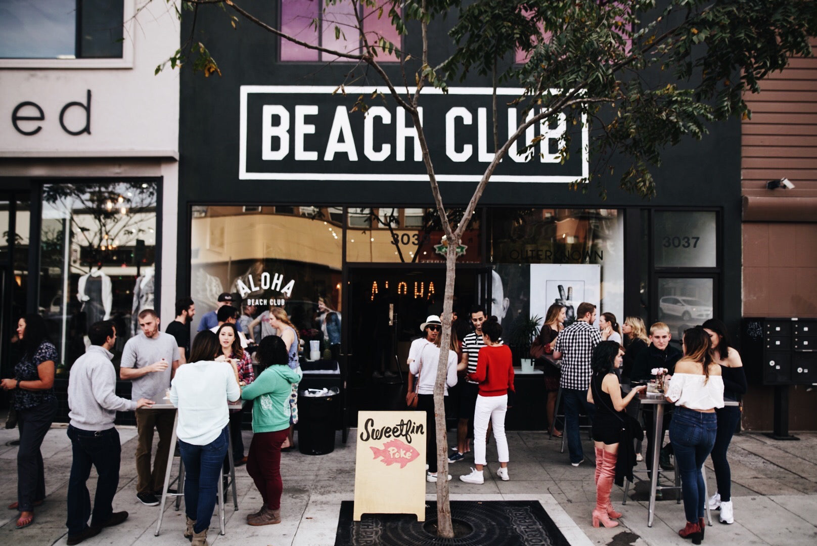 Aloha Beach Club x Sweeten Poke Pop Up at the North Park Flagship