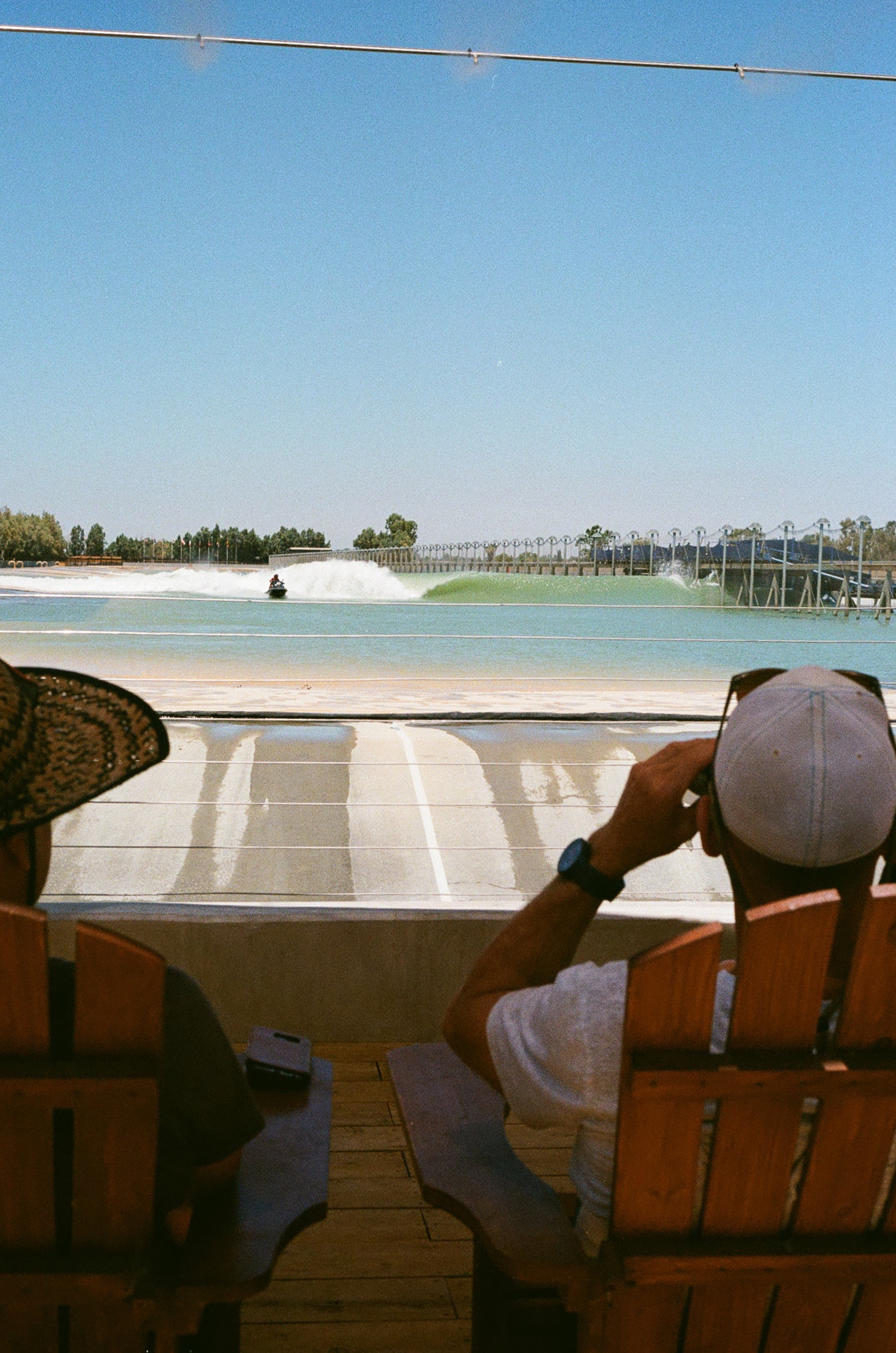 Riding Fake Waves Aloha Beach Club at the Kelly Slater Wave Pool