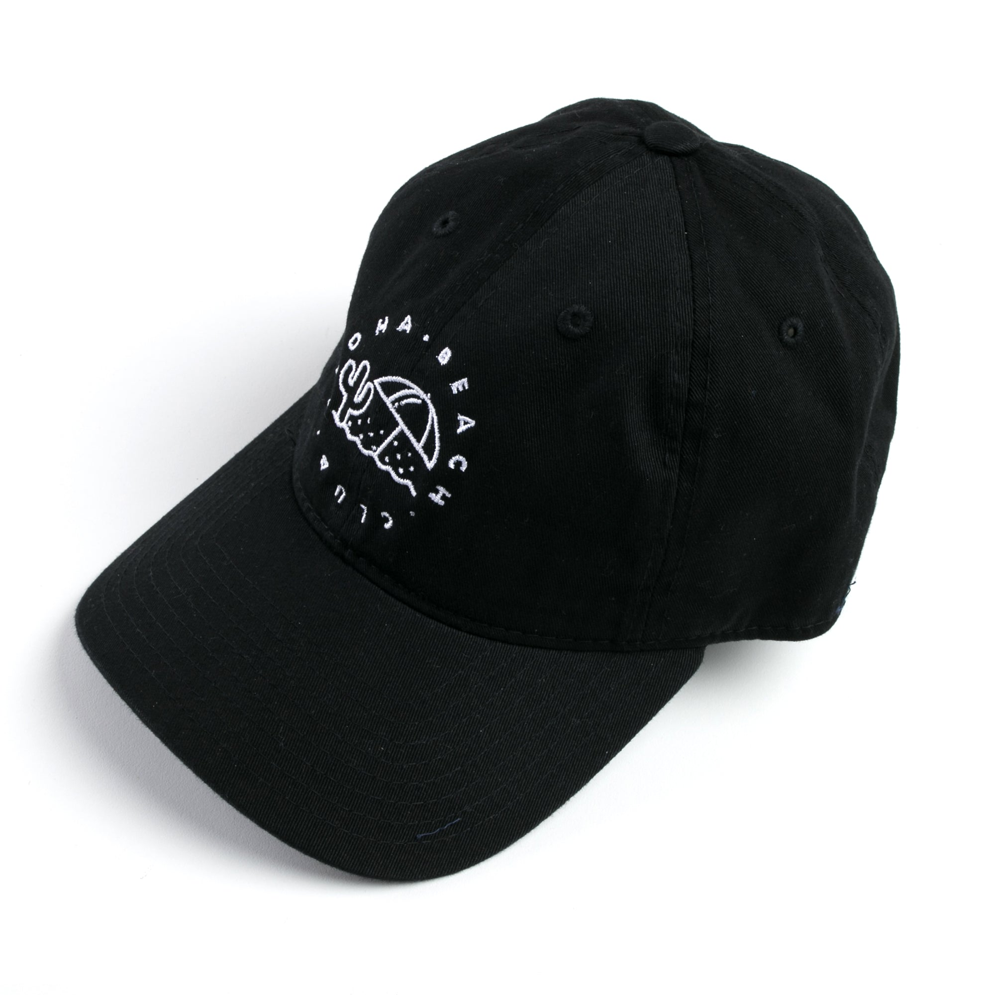 Aloha Beach Club Trops Hat in Black