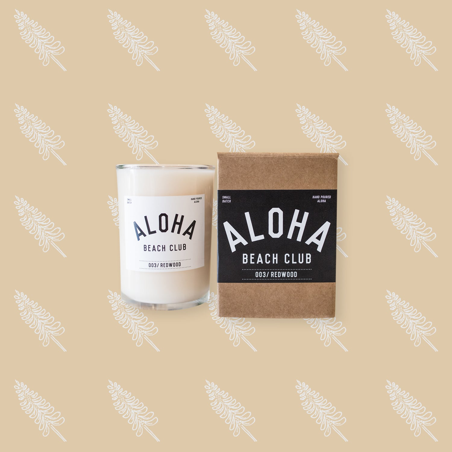 Aloha Beach Club - Redwood Candle