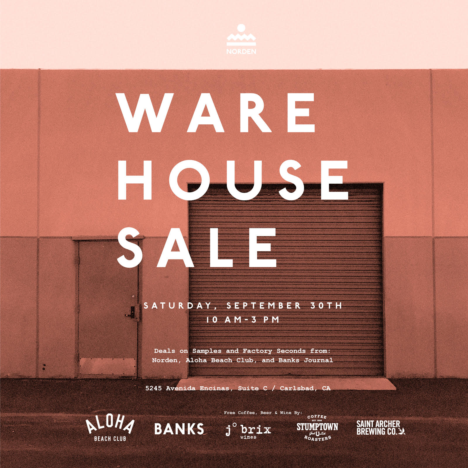Aloha Beach Club, Norden, Banks Warehouse Sale
