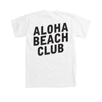 Aloha Beach Club - Field Tee White - Aloha Beach Club
