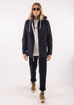 Aloha Beach Club - Konia Canvas Parka in Navy - Aloha Beach Club