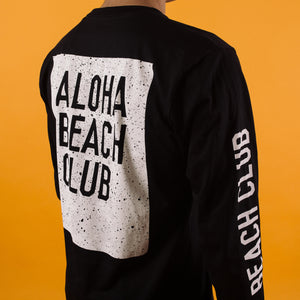 Aloha Beach Club - Crater Long Sleeve Shirt Black - Aloha Beach Club
