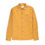 Aloha Beach Club - Abigail Long Sleeve Aloha Shirt Marigold - Aloha Beach Club