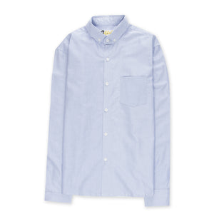 Aloha Beach Club - Chapman Blue Long Sleeved Oxford - Aloha Beach Club