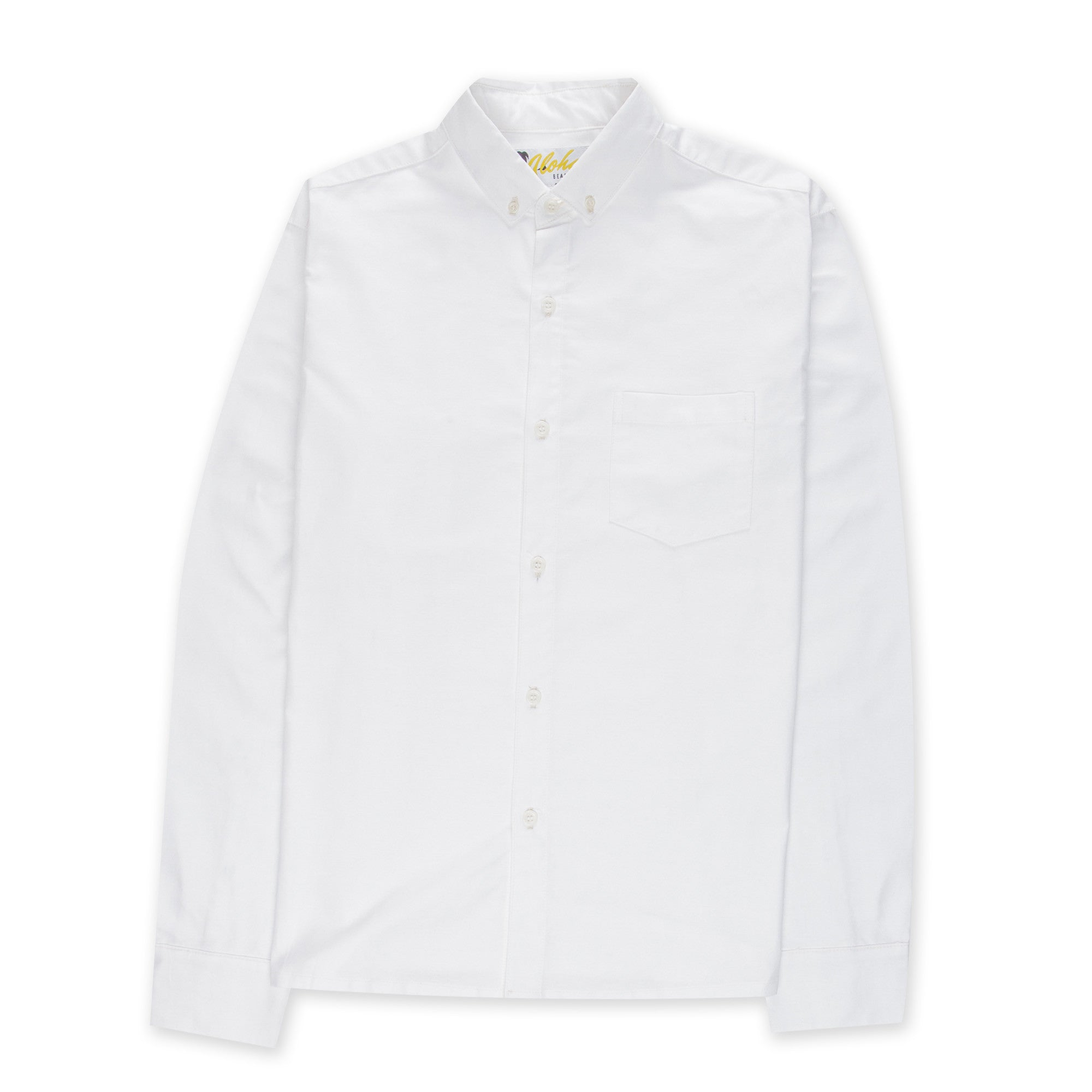 Aloha Beach Club - Chapman Natural Long Sleeved Oxford - Aloha Beach Club
