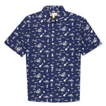Aloha Beach Club - Lanikai Navy Short Sleeve Aloha Shirt - Aloha Beach Club