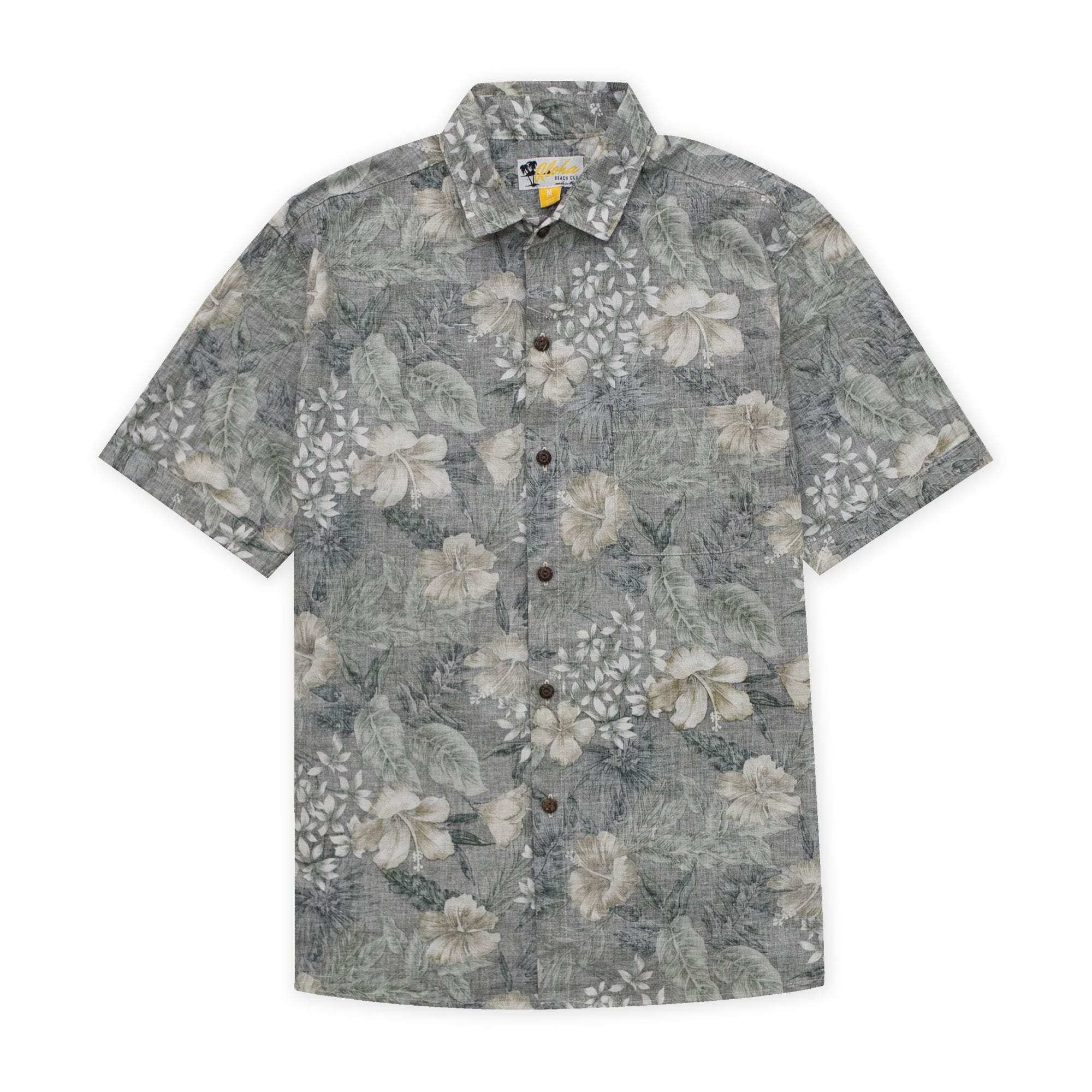 Aloha Beach Club - Nelly Short Sleeve Aloha Shirt Green - Aloha Beach Club