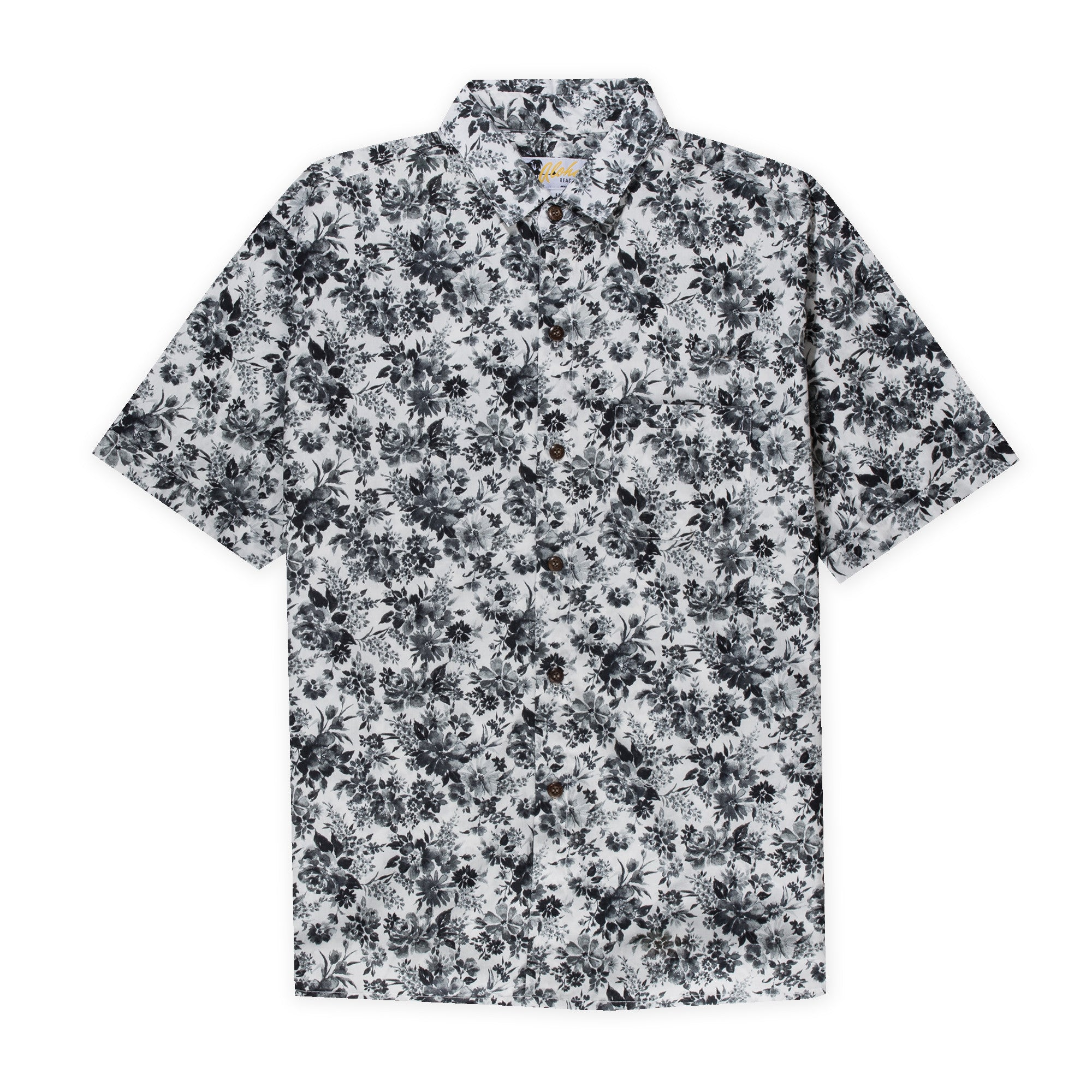 Aloha Beach Club - Tantalas Black Short Sleeve Aloha Shirt - Aloha Beach Club
