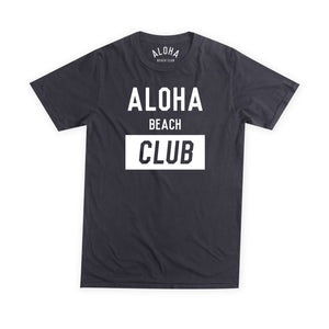 Aloha Beach Club - Univ Tee Black - Aloha Beach Club