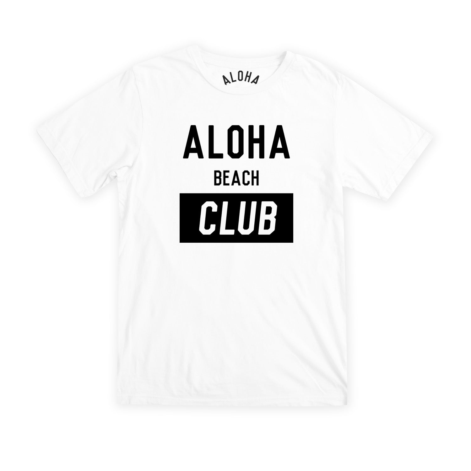 Aloha Beach Club - Univ Tee White - Aloha Beach Club