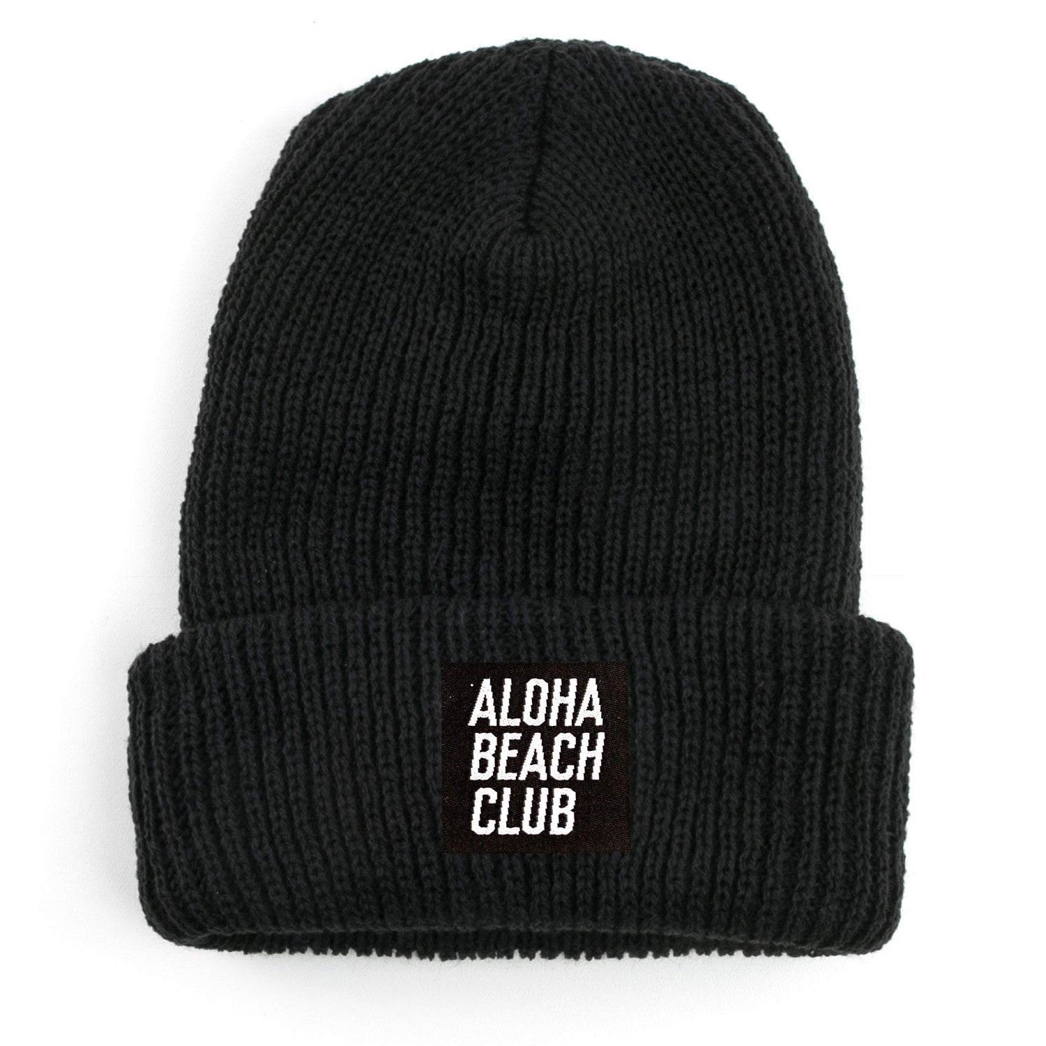 Aloha Beach Club - Kurtz Beanie Black - Aloha Beach Club