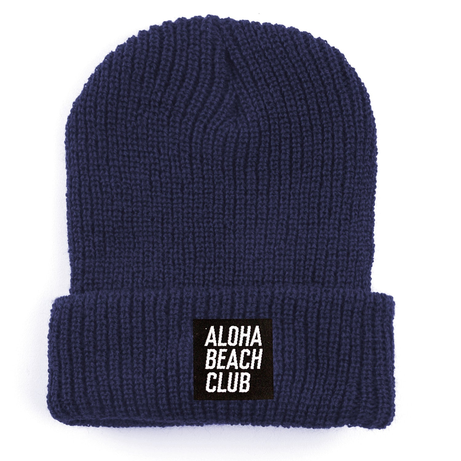 Aloha Beach Club - Kurtz Beanie Navy - Aloha Beach Club