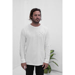 Aloha Beach Club - White Mid-Pac Long Sleeve - Aloha Beach Club