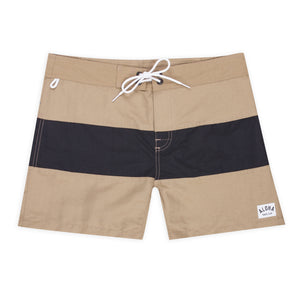 Aloha Beach Club - Tucker Trunk in Khaki and Black - Aloha Beach Club