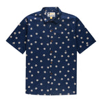Aloha Beach Club for Ballast Point - Sextant Navy Aloha Shirt - Aloha Beach Club
