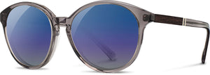 Shwood - Bailey: Smoke // Ebony - Blue Flash Polarized