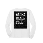 Aloha Beach Club - Crater Long Sleeve Shirt White - Aloha Beach Club