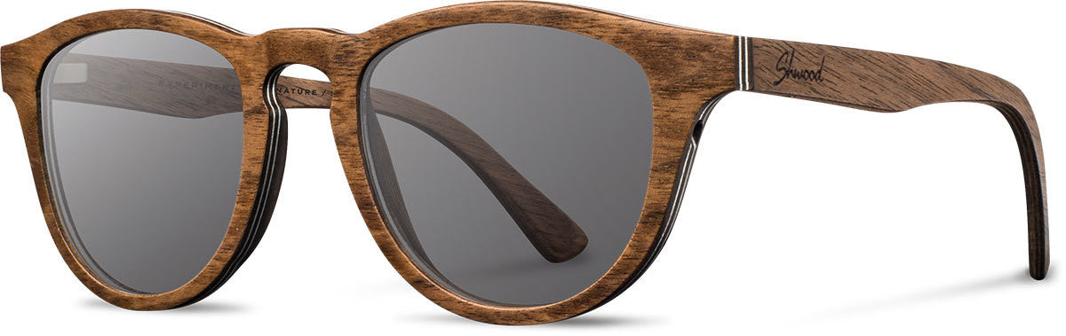 Shwood - Francis: Walnut - Grey
